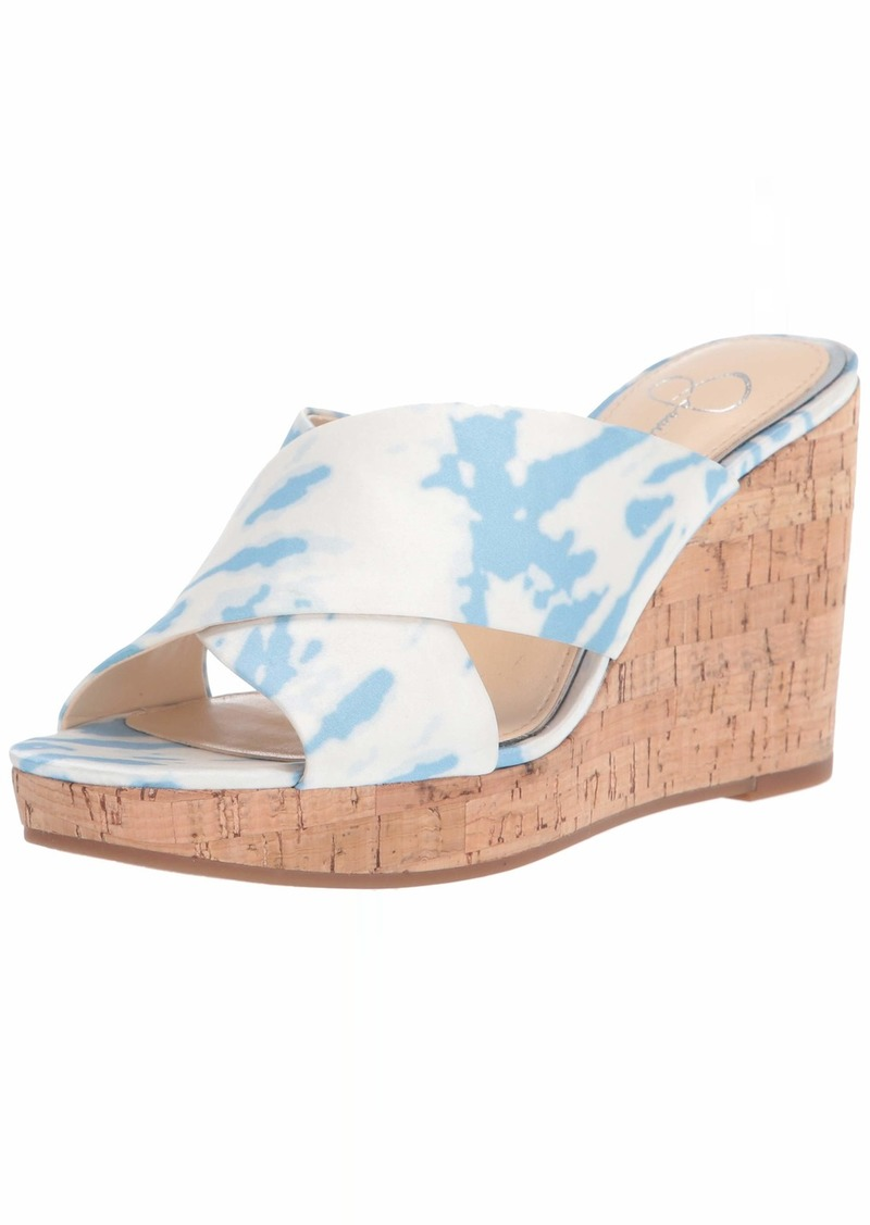 Jessica Simpson womens Seena Wedge Sandal   US