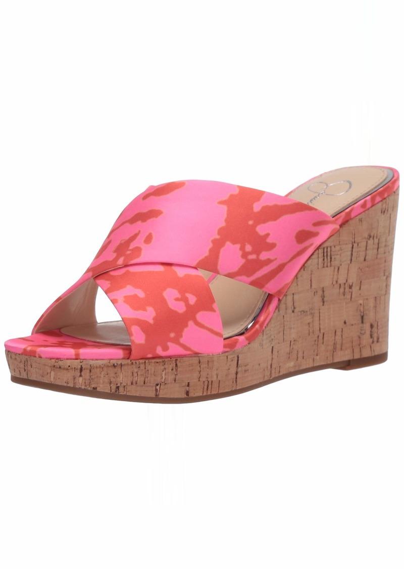 Jessica Simpson womens Seena Wedge Sandal   US