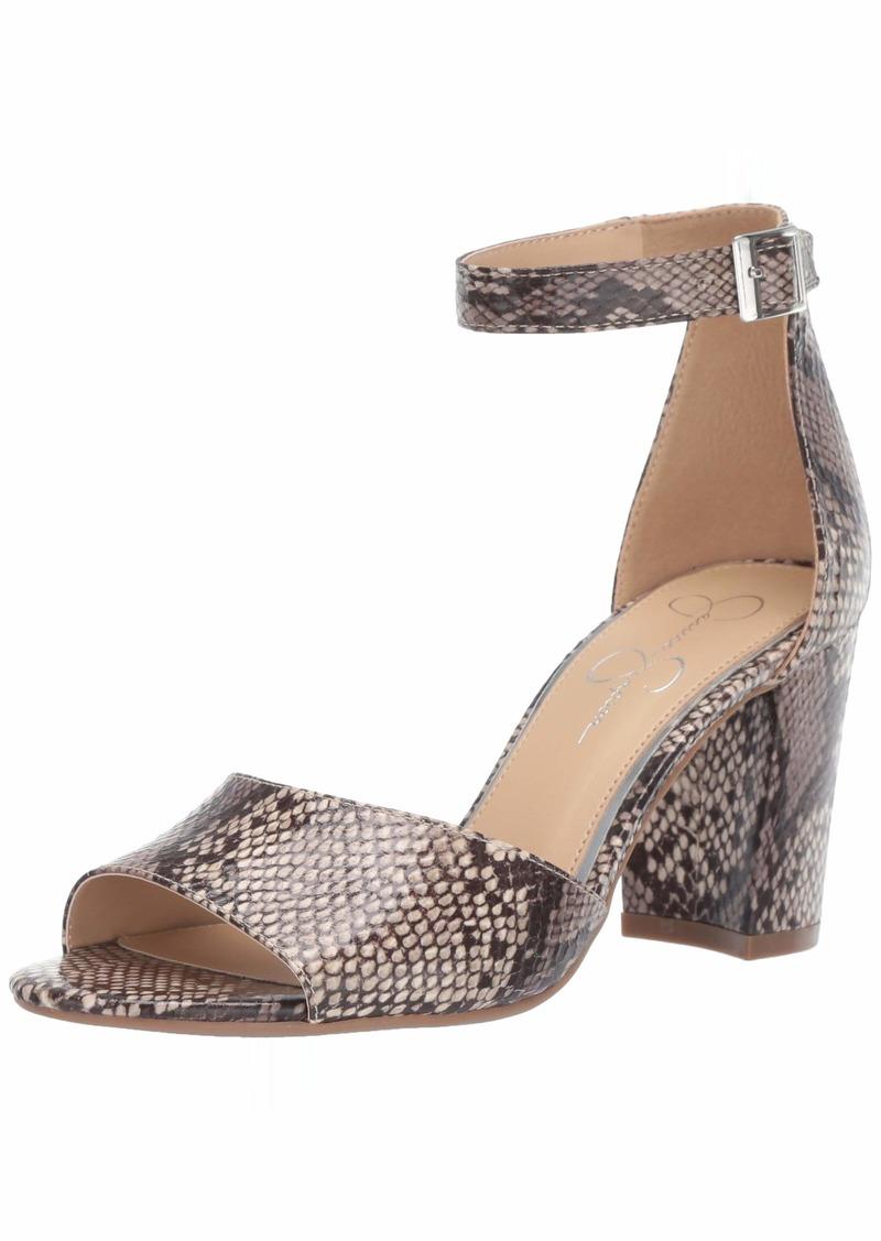 Jessica Simpson Women's Sherron Heeled Sandal   M US
