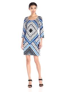 Jessica Simpson Women's Printed Shift Dress