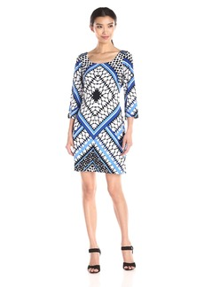 Jessica Simpson Women's Printed Shift Dress