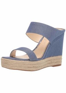 Jessica Simpson Women's Siera Wedge Sandal   M US