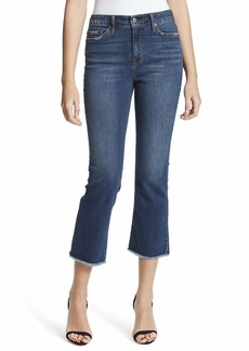 Jessica Simpson Women's Size Adored High Rise Kick Flare Ankle Jean   Regular