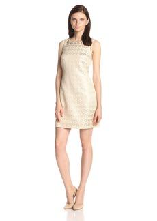 Jessica Simpson Women's Sleeveless Embellished Dress