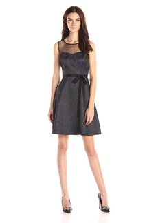 Jessica Simpson Women's Sleeveless Fit and Flare Party Dress