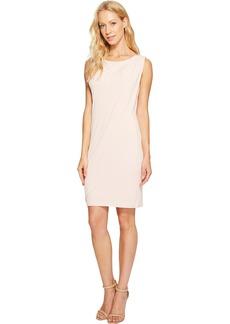 Jessica Simpson Women's Solid Ity Front Drape Dress