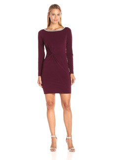 Jessica Simpson Women's Solid Knot Dress