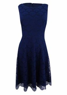 Jessica Simpson Women's Solid Lace Dress