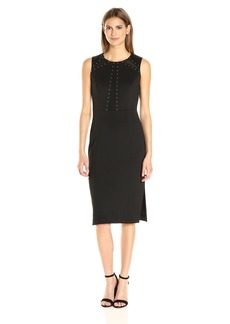 Jessica Simpson Women's Solid Midi Dress