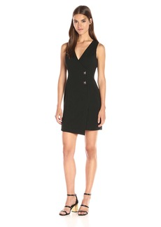 Jessica Simpson Women's Solid Ottoman Knit Dress