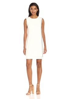 Jessica Simpson Women's Solid Overlay Dress