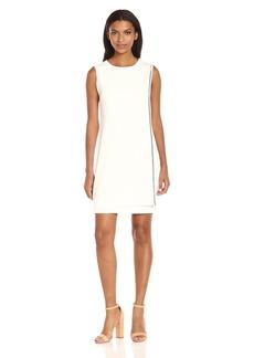 Jessica Simpson Women's Solid Overlay Dress