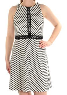 Jessica Simpson Women's Stripe Twill Knit Dress