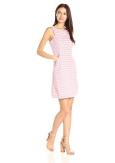 Jessica Simpson Women's Striped Tweed Dress