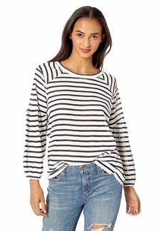 Jessica Simpson Women's Suwa Pullover Sweater Gardenia-Sky Captain Stripe