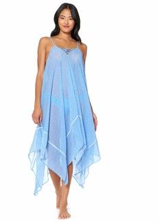 Jessica Simpson Women's Swimsuit Lace Front Bathing Suit Cover Up  S