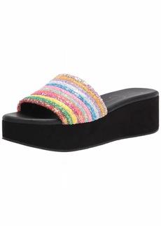 Jessica Simpson Women's Trivia Slide Sandal