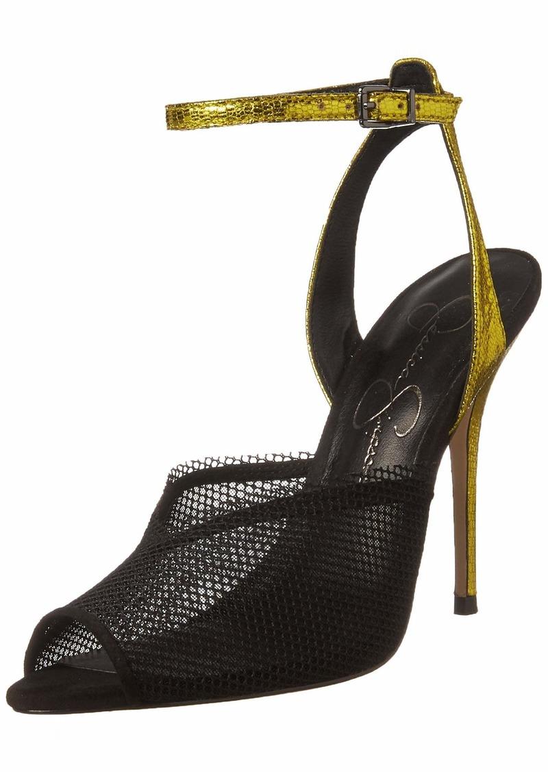 Jessica Simpson Women's Willren Heeled Sandal   M US