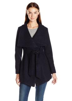 Jessica Simpson Women's Wrap Coat  L