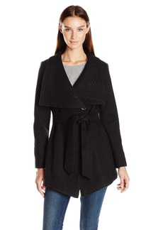 Jessica Simpson Women's Wrap Coat  S