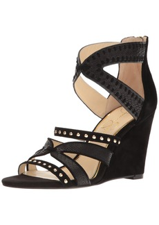 Jessica Simpson Women's Zenolia Wedge Sandal   M US