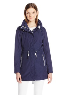 Jessica Simpson Women's Zip Pocket Anorak with Hood