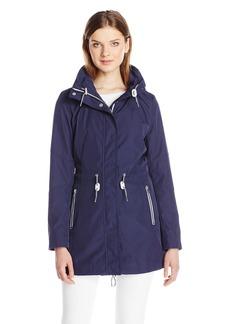 Jessica Simpson Women's Zip Pocket Anorak with Hood