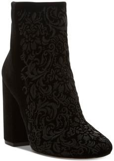 Jessica Simpson Wovella Block-Heel Booties Women's Shoes