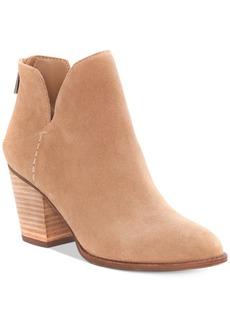 Jessica Simpson Yolah Block-Heel Booties Women's Shoes