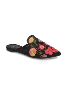 Jessica Simpson Zander Flower Embroidered Loafer Mule (Women)