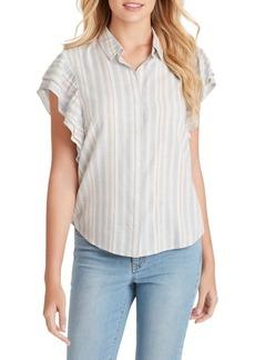 Jessica Simpson Zaylee Double Ruffle Shirt