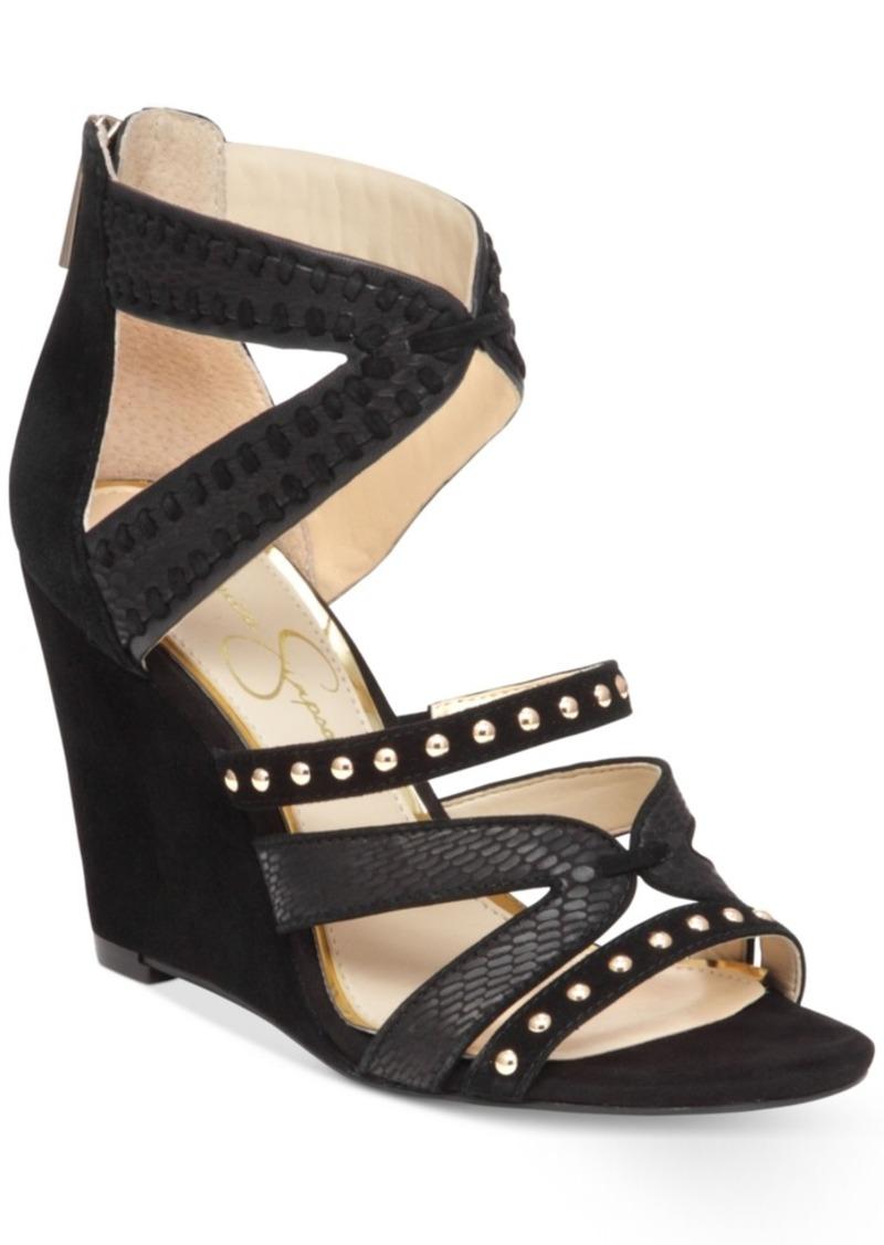 Jessica Simpson Zenolia Strappy Wedge Sandals Women's Shoes