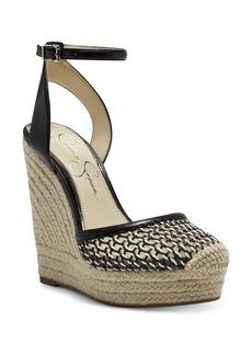 Jessica Simpson Zestah Ankle Strap Espadrille Wedge (Women)