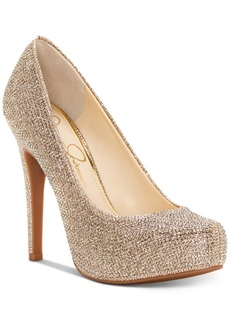 Jessica Simpson Jessica Simspon Parisah Platform Pumps Women's Shoes