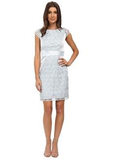 Jessica Simpson Lace Cap Sleeve Dress