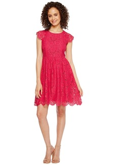 Jessica Simpson Lace Fit and Flare Dress JS7A9597