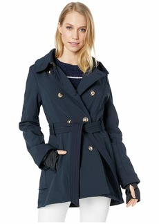 Jessica Simpson Military Inspired Softshell Trench