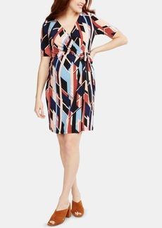 Jessica Simpson Motherhood Maternity Wrap Dress