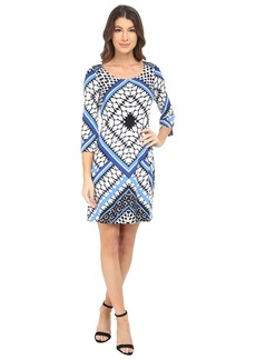 Jessica Simpson Printed Ity Shift Dress