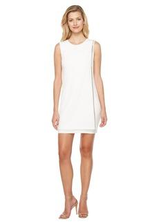 Sleeveless Front Drape Dress