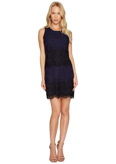 Jessica Simpson Tiered Lace Dress JS4R4533