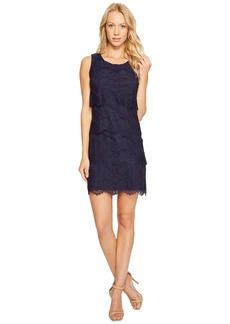 Jessica Simpson Tiered Lace Dress JS4R4533