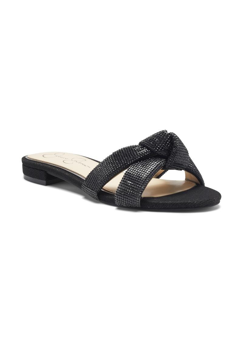 Women's Jessica Simpson Alisen Crystal Embellished Slide Sandal