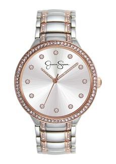 Jessica Simpson Women's Quartz Bracelet Watch, 36mm