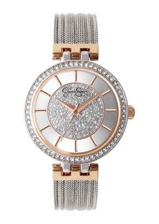 Jessica Simpson Women's Quartz Mesh Bracelet Watch, 36mm