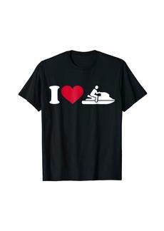 I love jet ski T-Shirt