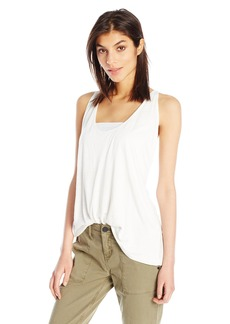 JET John Eshaya Women's Button Back Slub Tank  Medium/Large