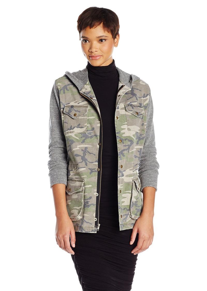 JET John Eshaya Women's Hooded Army Jacket  Medium/Large