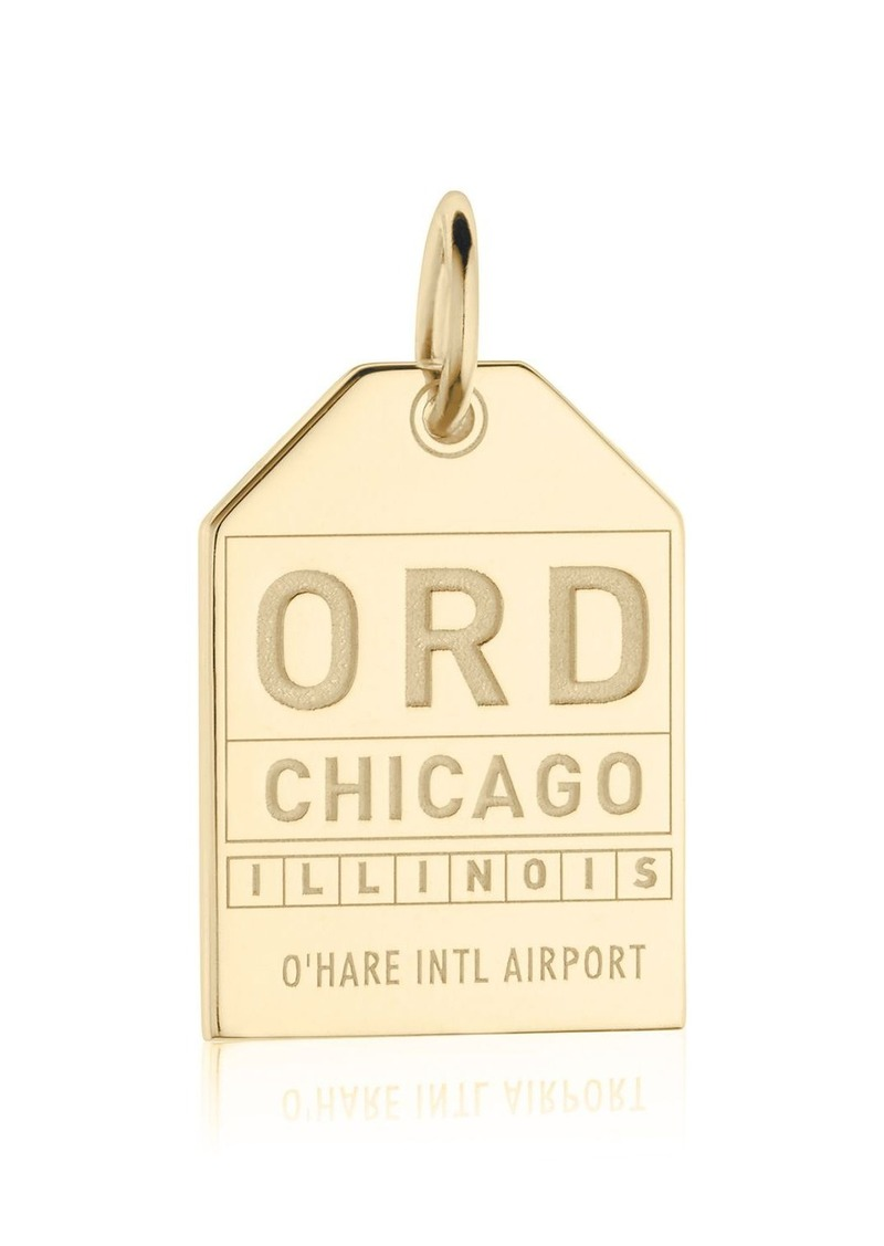 Jet Set Candy ORD Chicago Luggage Tag Charm