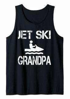 Jet Ski Grandpa  Tank Top